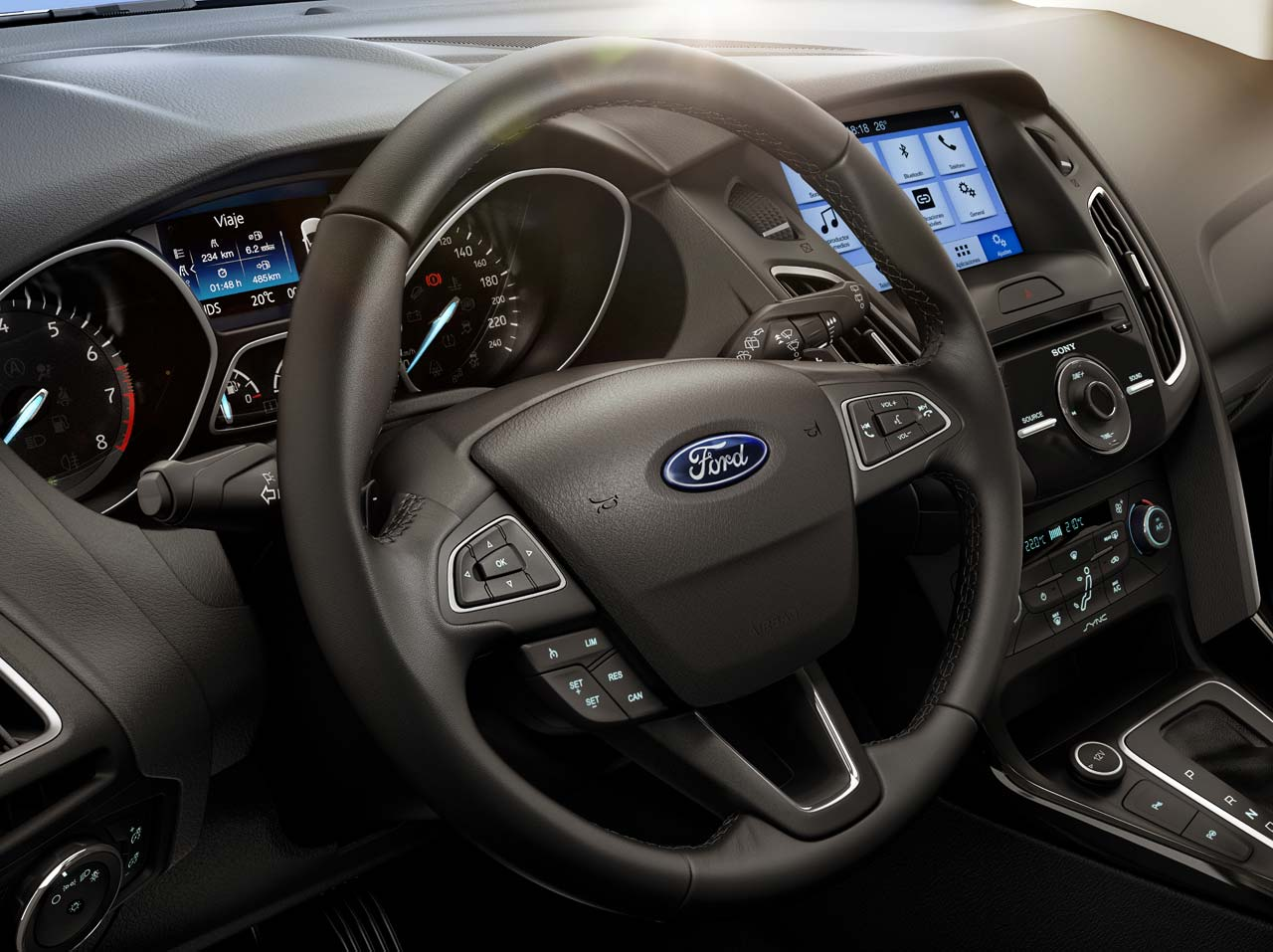 Interior Ford Focus 2017