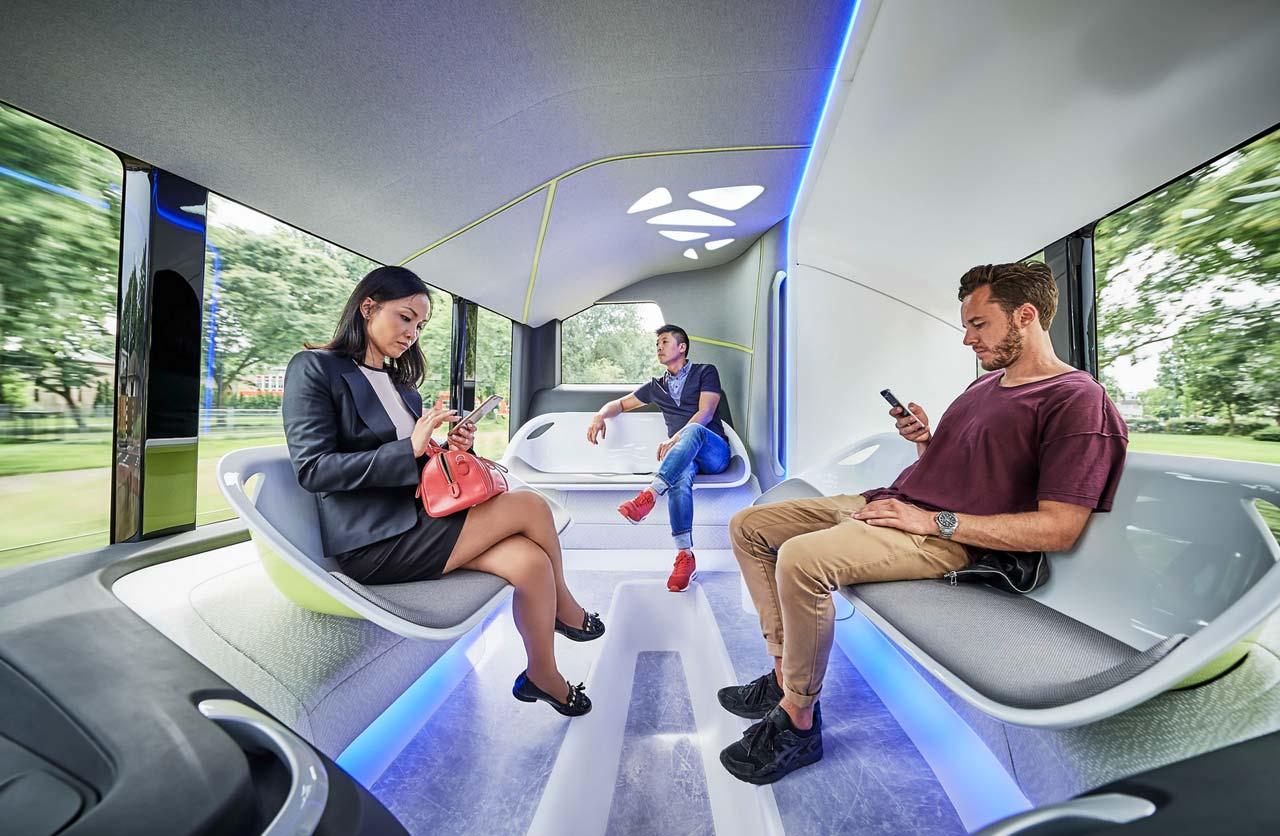 Autobus del futuro de Mercedes-Benz