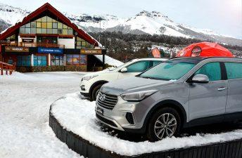 Hyundai, nuevamente presente en Chapelco con sus camionetas