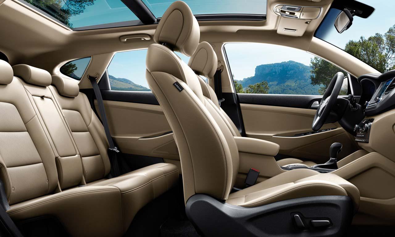 Interior Nueva Hyundai Tucson