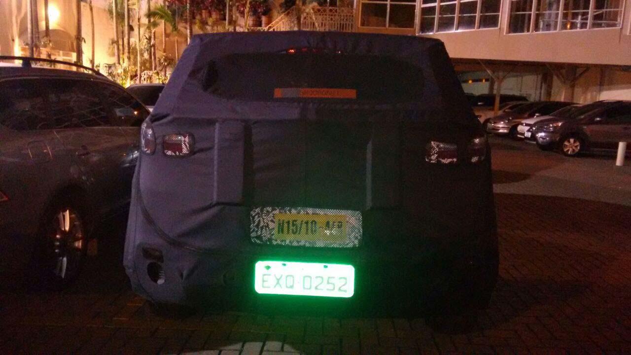 Hyundai ix25 Brasil espía
