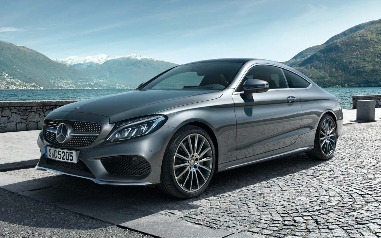 El nuevo mercedes benz clase c coup lleg al mercado for Mercedes benz c coupe