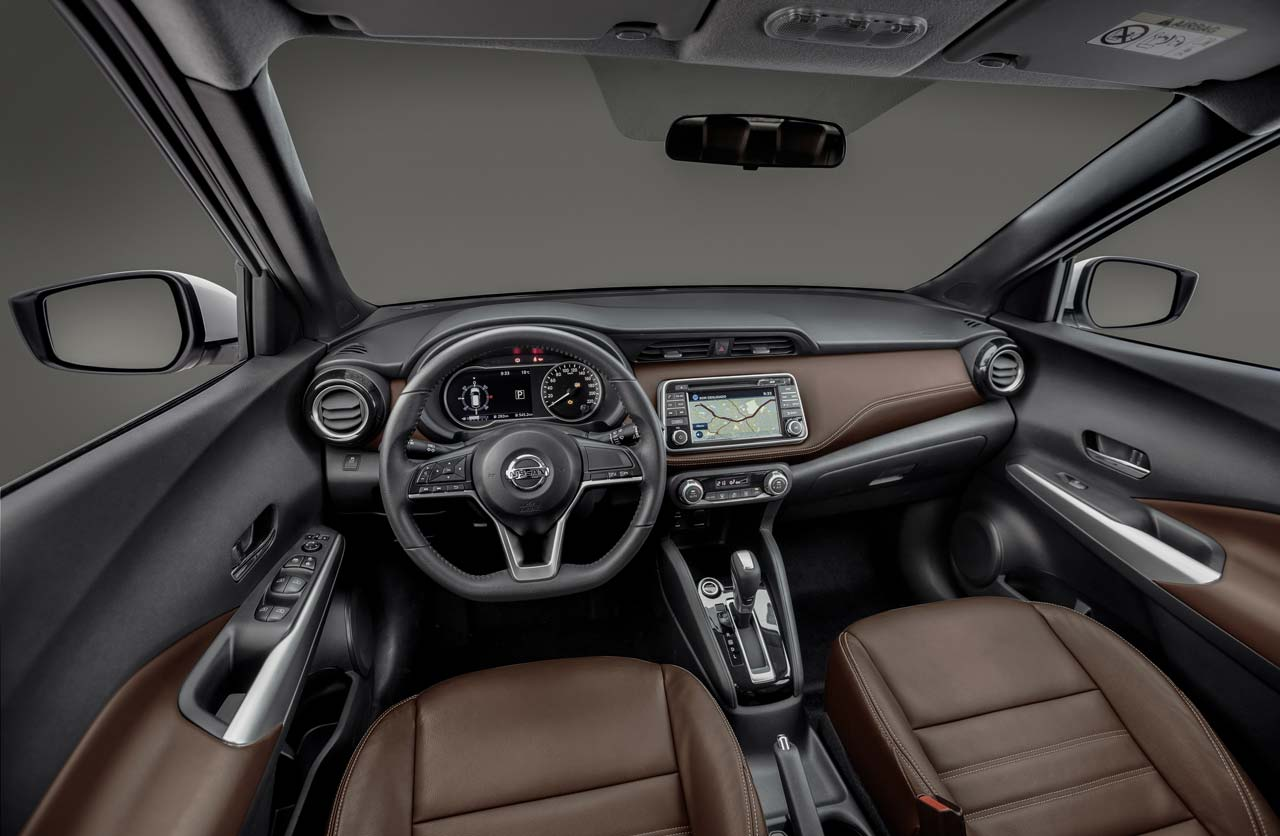 Interior Nissan Kicks