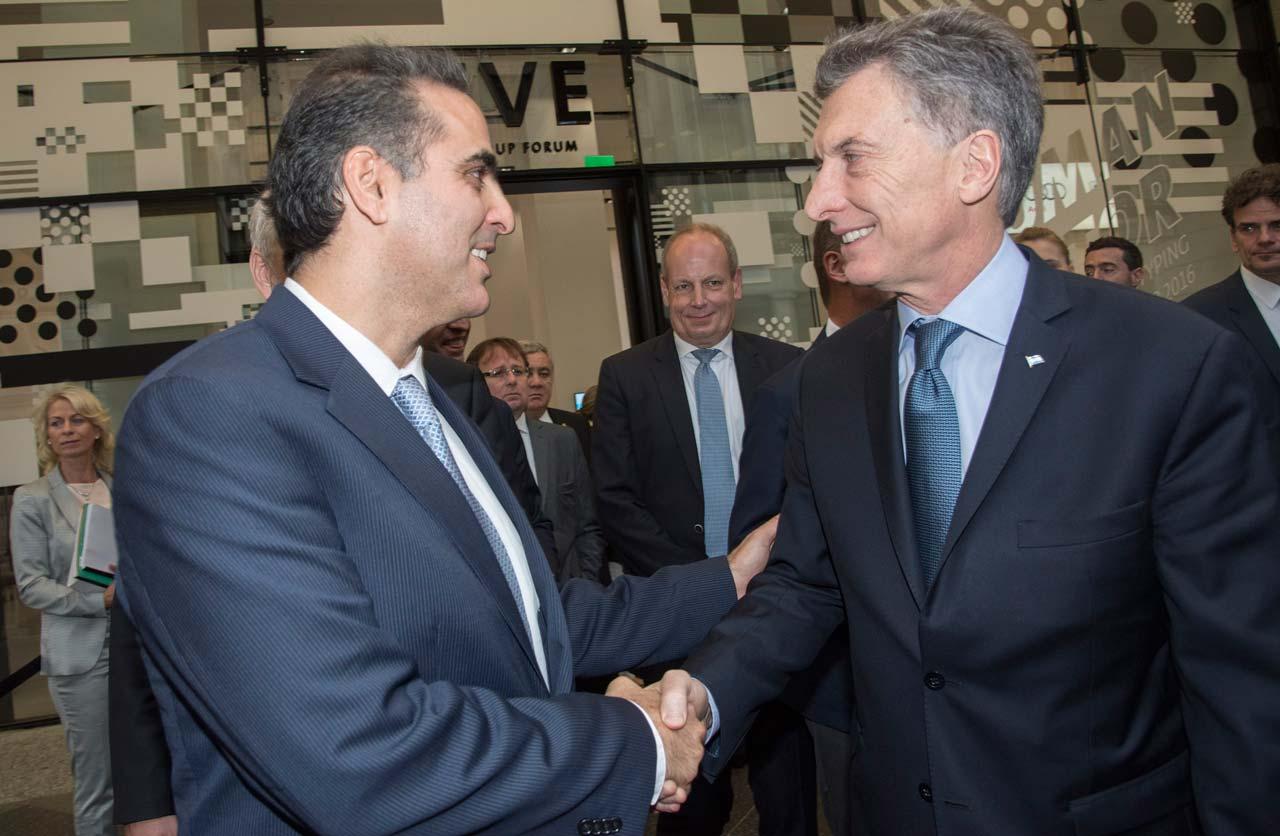 Pablo Di Si y Mauricio Macri