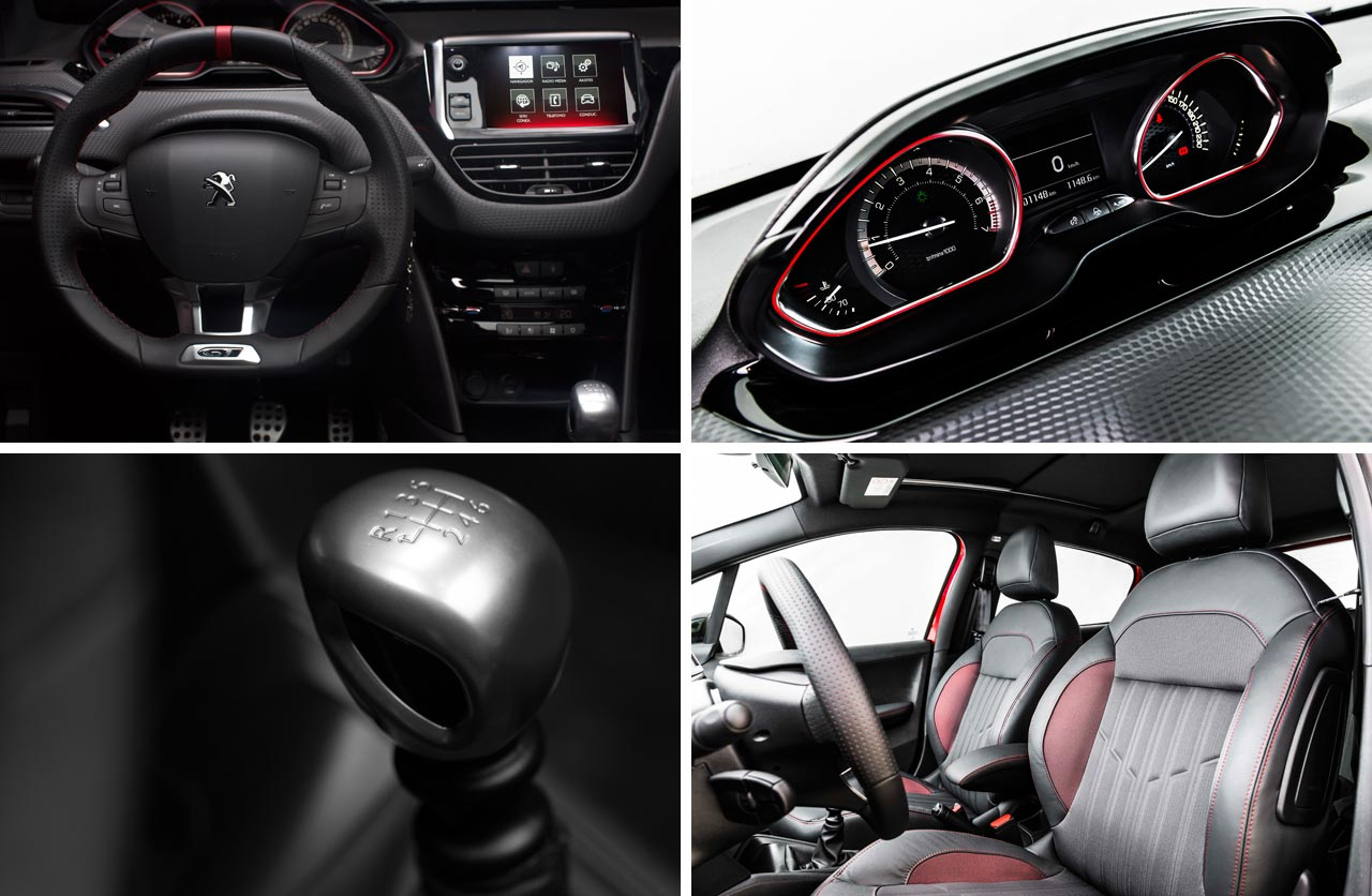 Habitáculo Nuevo Peugeot 208 GT