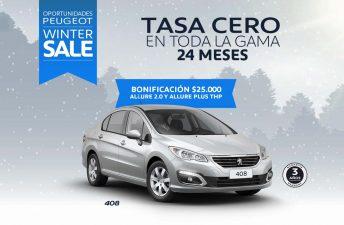 """El """"Winter Sale"""" de Peugeot se extiende a los 0km y a la Postventa"""