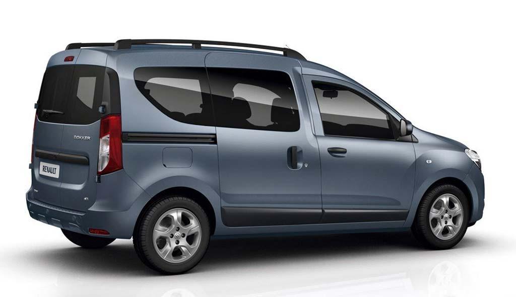 Renault Dokker pasajeros