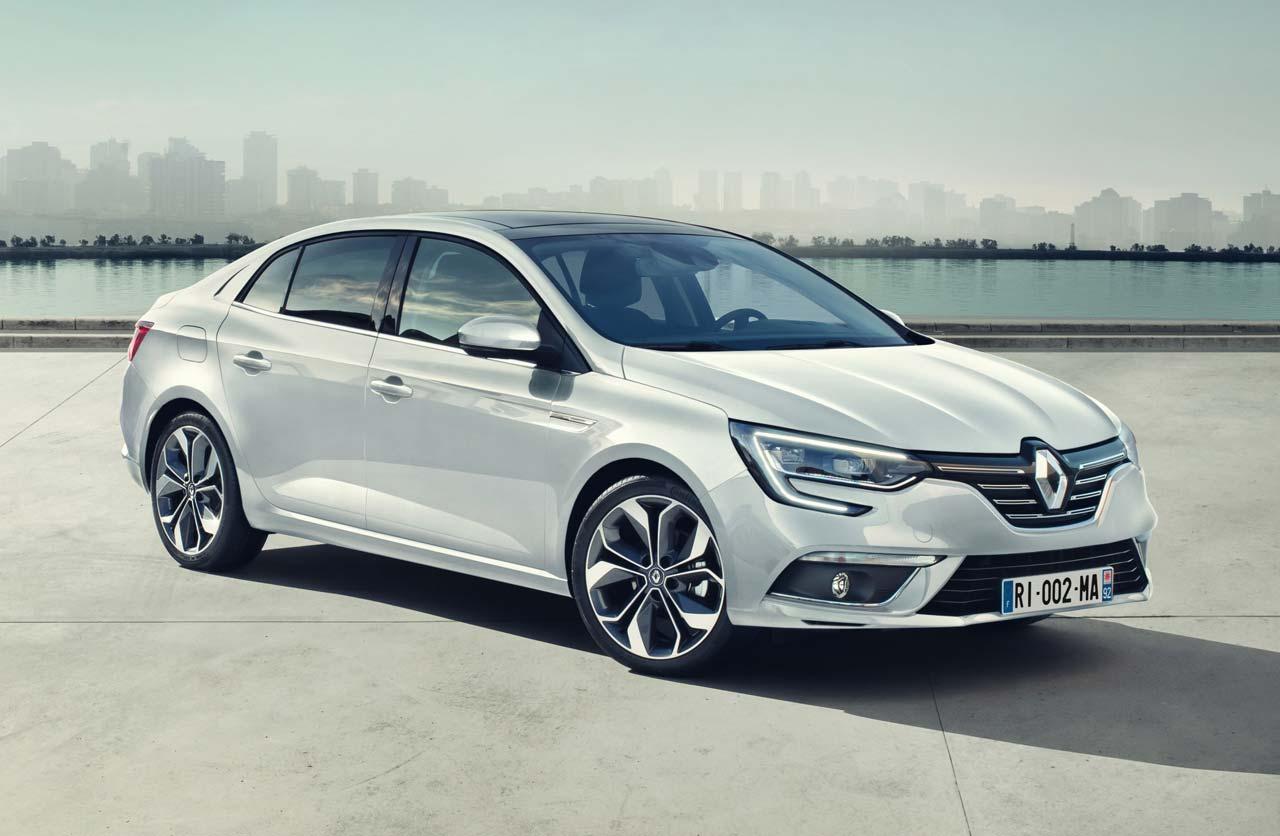 Así es el nuevo Renault Mégane Sedán (¿próximo Fluence?)