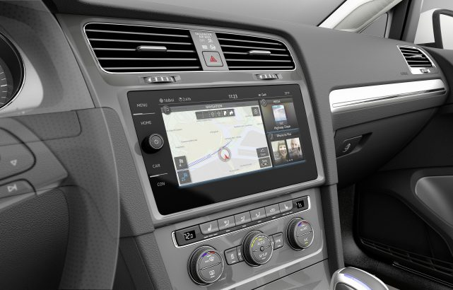 Interior Volkswagen Golf 7 Facelift