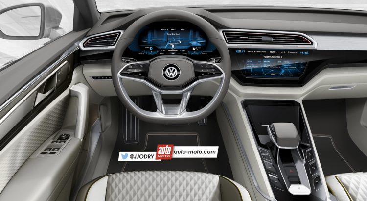 Interior Volkswagen Golf 8