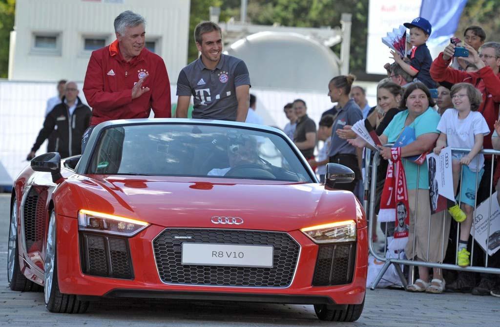 Nuevos Audis para los jugadores del Bayern Munich