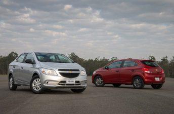 Chevrolet Onix y Prisma, versión Joy con estética original
