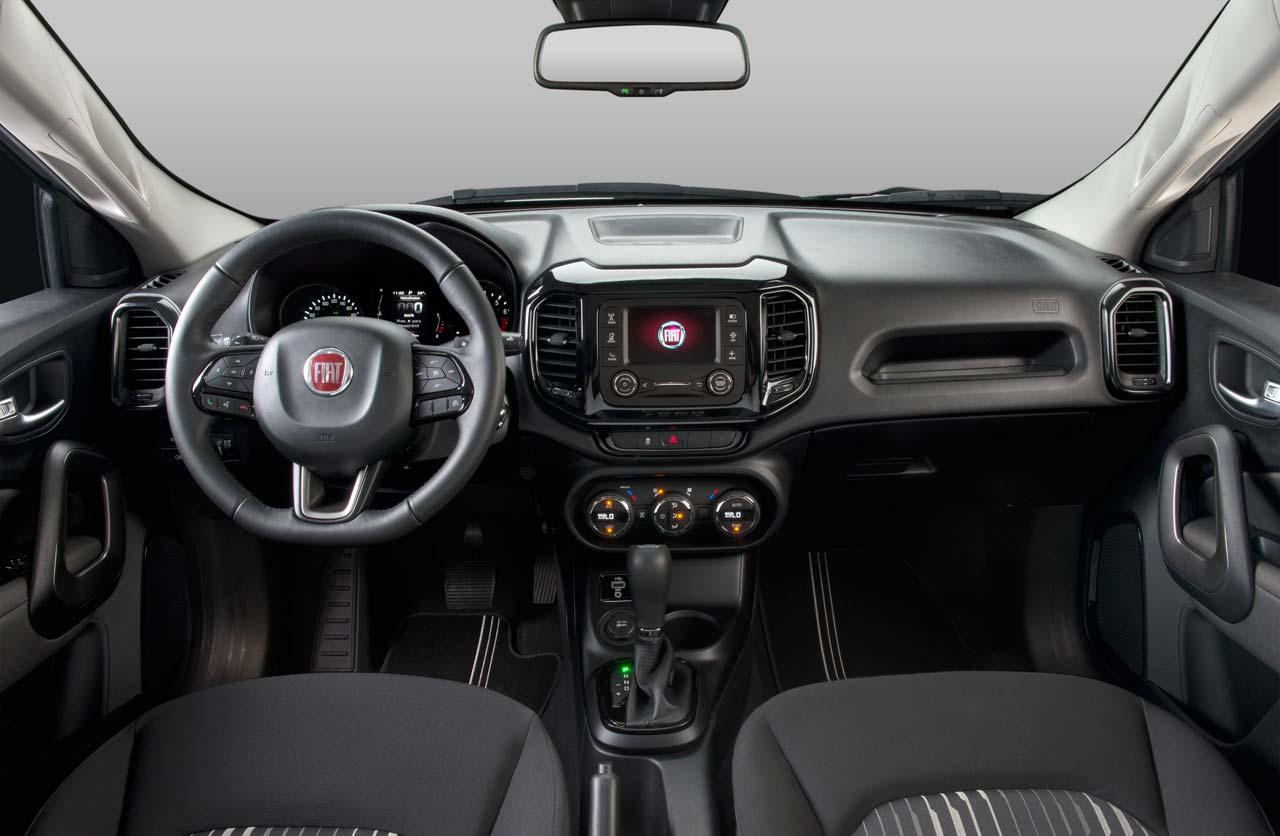Interior Fiat Toro nafta