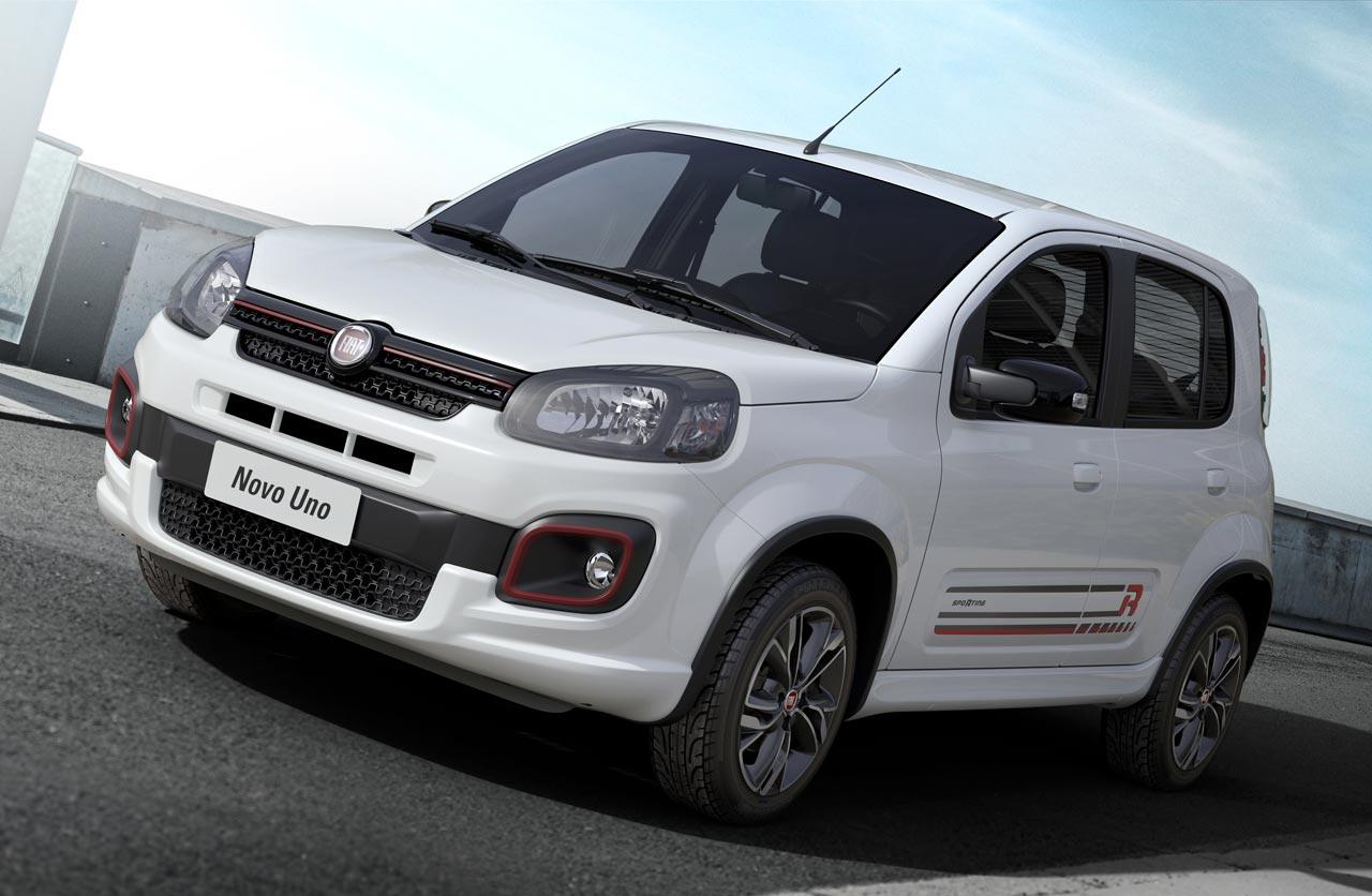 El Fiat Uno 2017 se lanza en septiembre con nuevos motores (en Brasil)