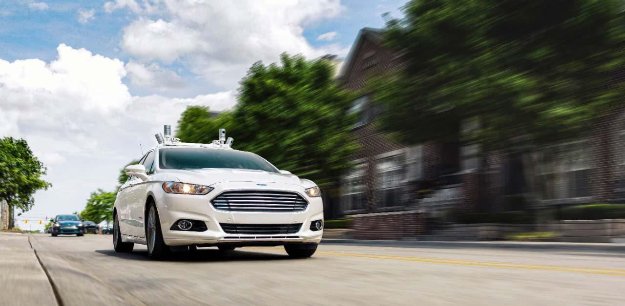 Ford Mondeo autónomo