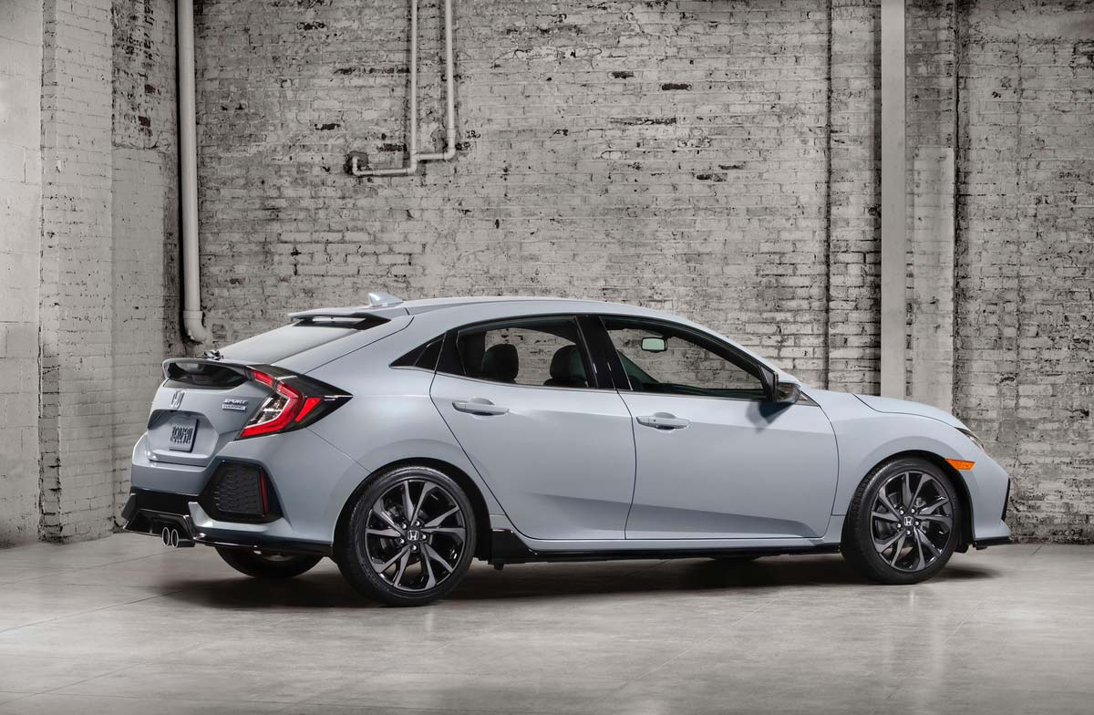 Oficial: nuevo Honda Civic Hatchback