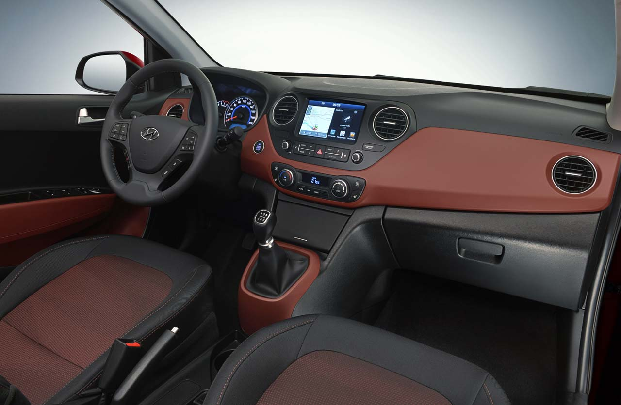 Interior Nuevo Hyundai i10