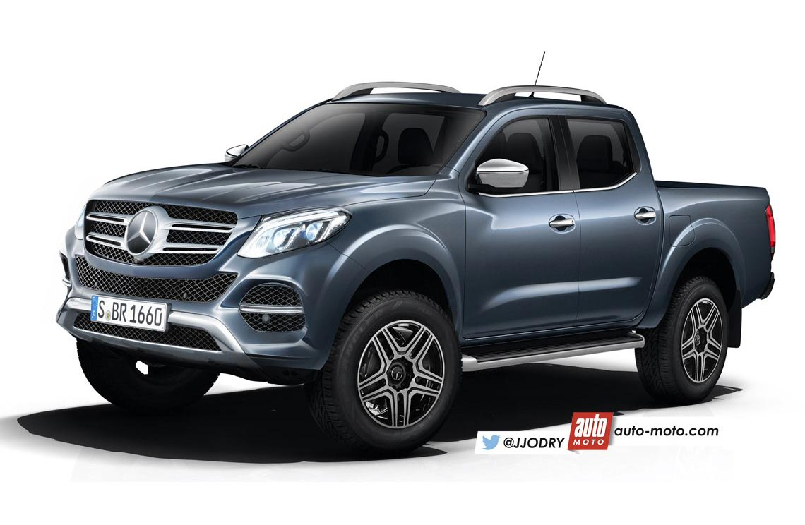 Más sobre la futura pick up de Mercedes-Benz
