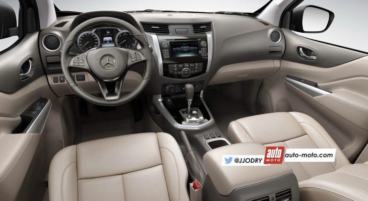 Interior Mercedes-Benz pick up