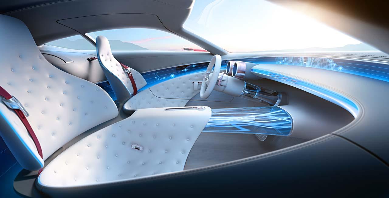 Interior Vision Mercedes-Maybach 6