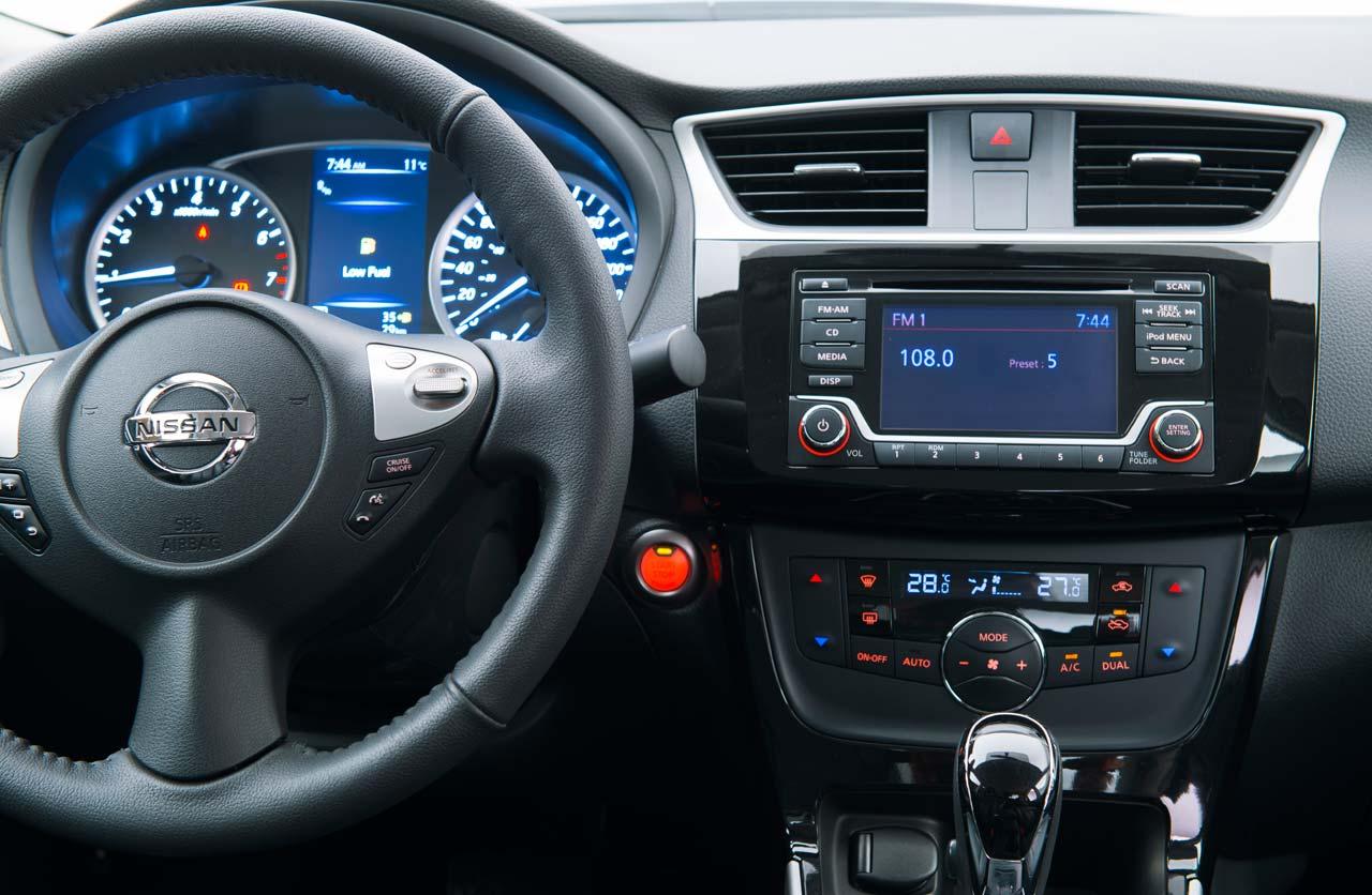 Nissan Sentra 2017 Interior Plancha Mega Autos