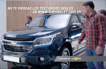 """""""Vida Real"""", la campaña publicitaria de la Nueva Chevrolet S10"""