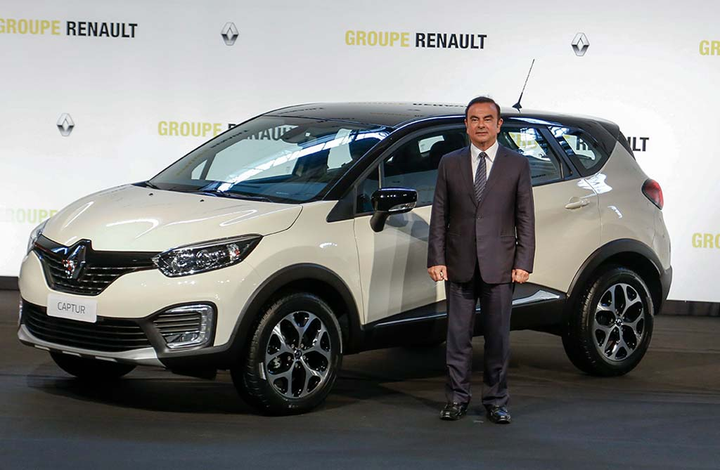 Renault Captur Brasil - Carlos Ghosn