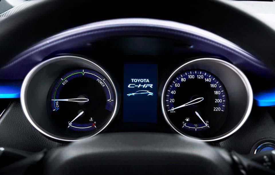 Tablero Toyota C-HR