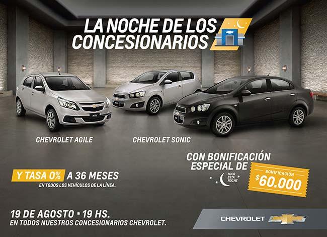 Chevrolet Noche de los Concesionarios