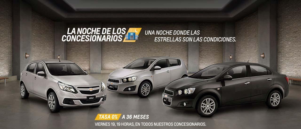 """""""La Noche de los Concesionarios"""": más descuentos de Chevrolet"""