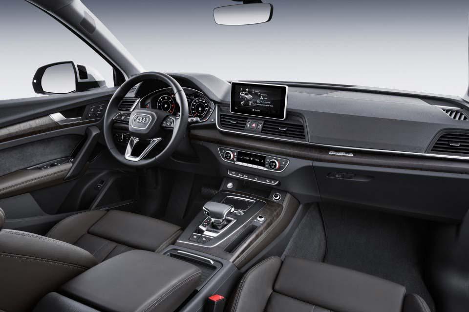 Interior Nuevo Audi Q5