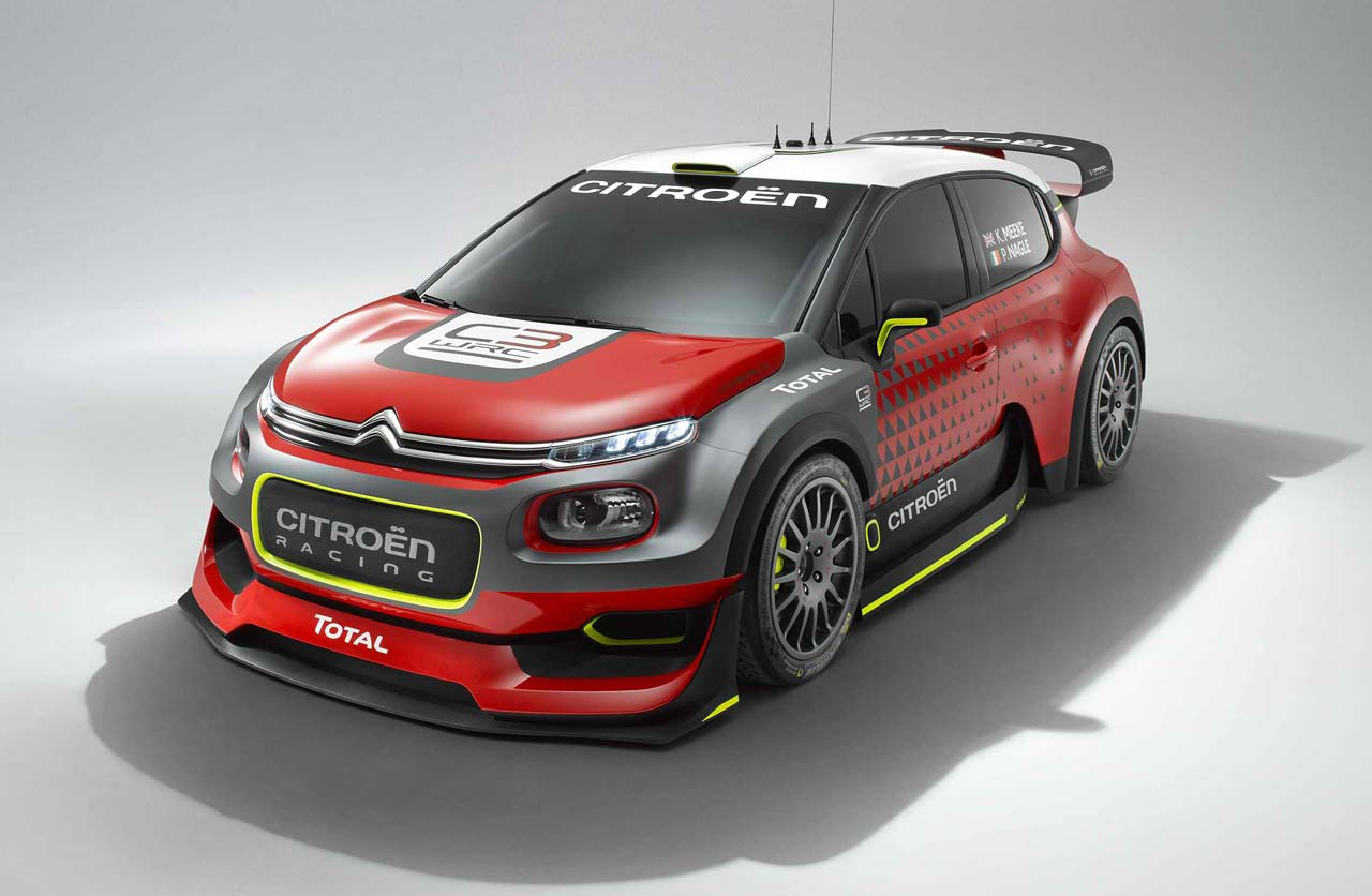 Citroën C3 WRC: la máquina para regresar al Rally Mundial