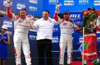 Citroën festeja su título de constructores del WTCC