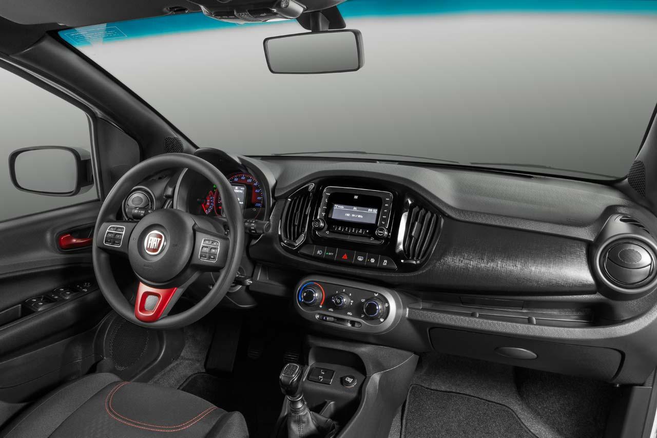 Interior Nuevo Fiat Uno