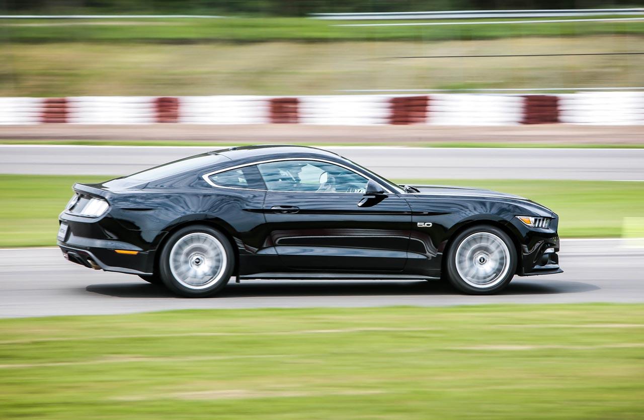 Ford Mustang prueba