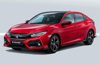 Así es el Honda Civic Hatchback para Europa