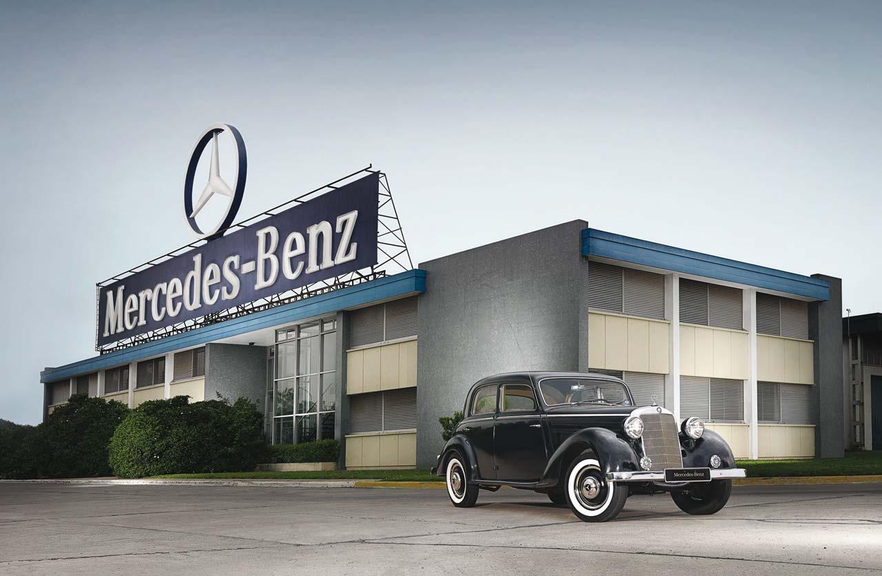 Mercedes-Benz, 65 años en Argentina - Mega Autos
