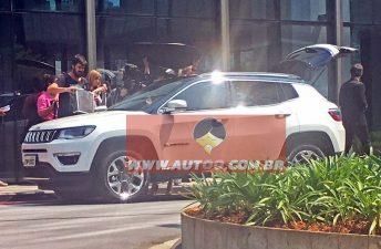 "Jeep Compass, ""cazado"" sin camuflaje en Brasil"