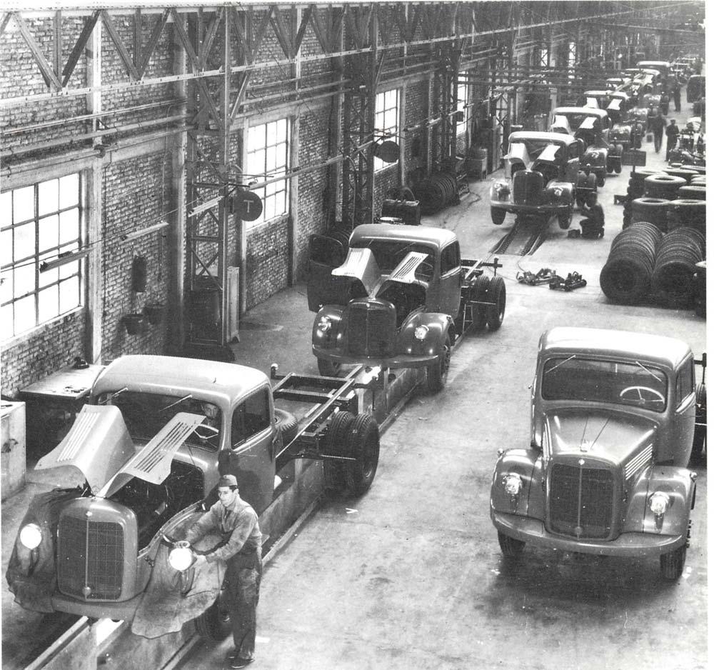 Los primeros Mercedes Benz producidos en Argentina