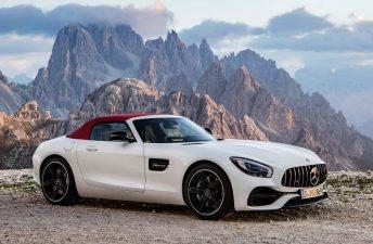 El Mercedes-AMG GT se hizo Roadster