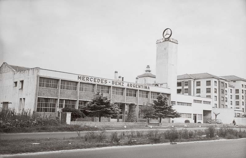 Mercedes Benz Argentina la primera fabrica fuera de Alemania