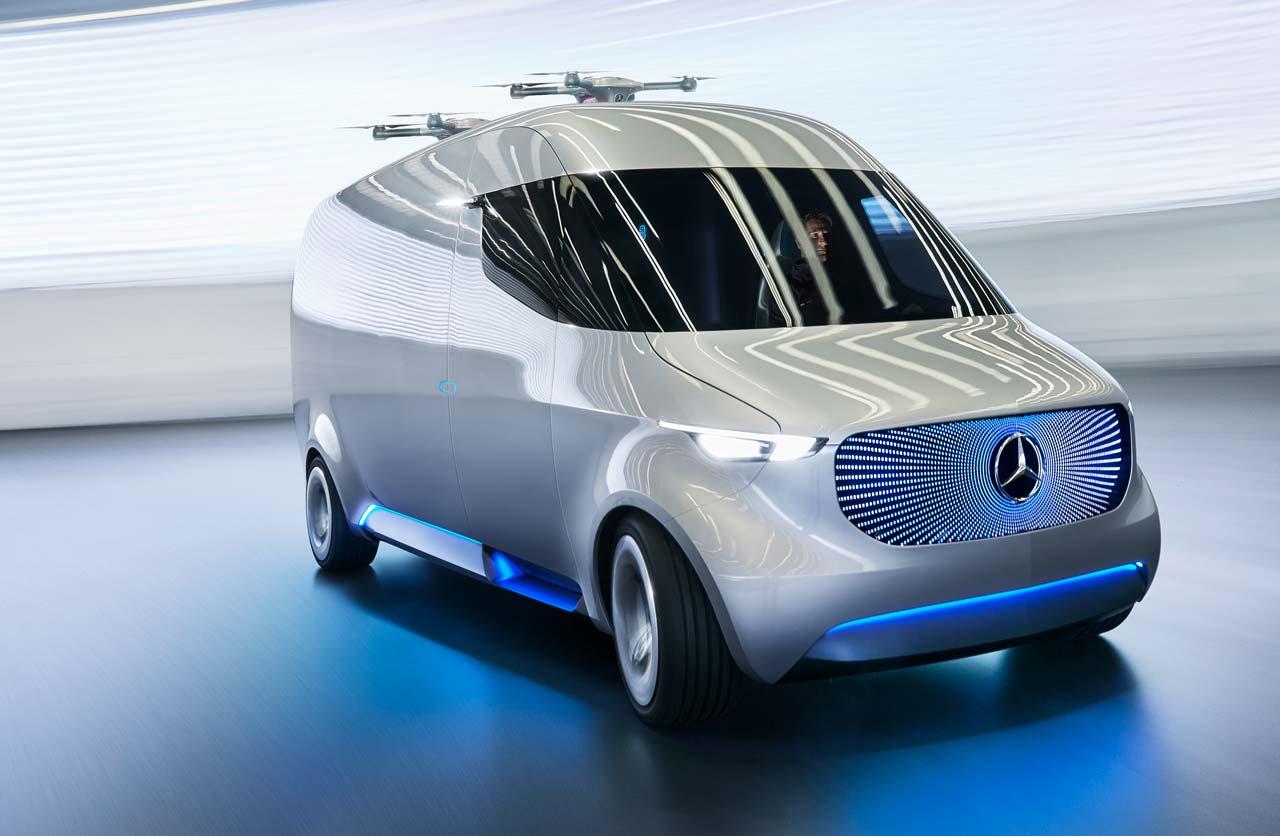 Mercedes benz vision van la sprinter del futuro mega autos for La mercedes benz