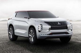 Mitsubishi GT-PHEV Concept, un SUV híbrido con tres motores