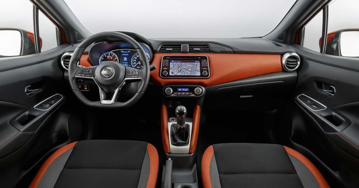 Interior Nuevo Nissan March