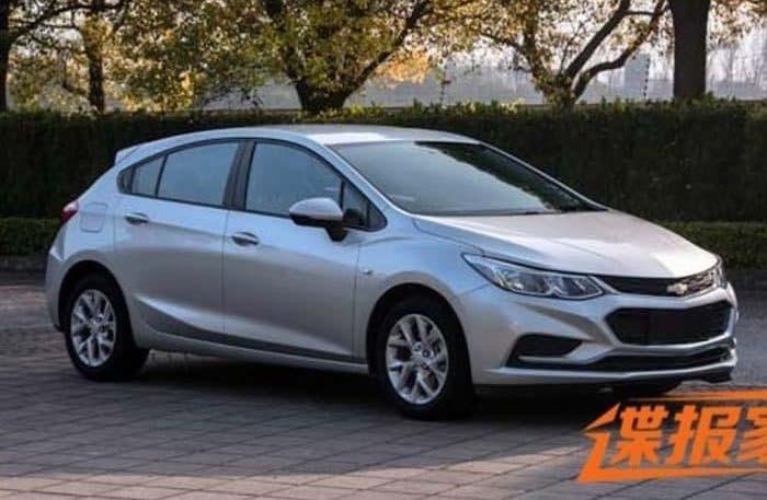 El nuevo Chevrolet Cruze Hatchback ya está listo - Mega Autos