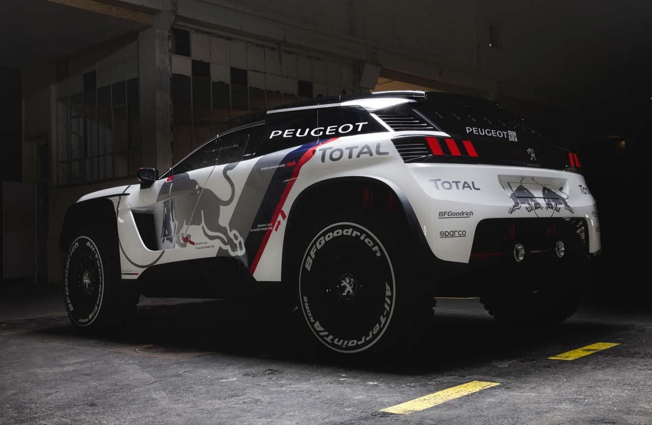 Peugeot 3008 Dakar