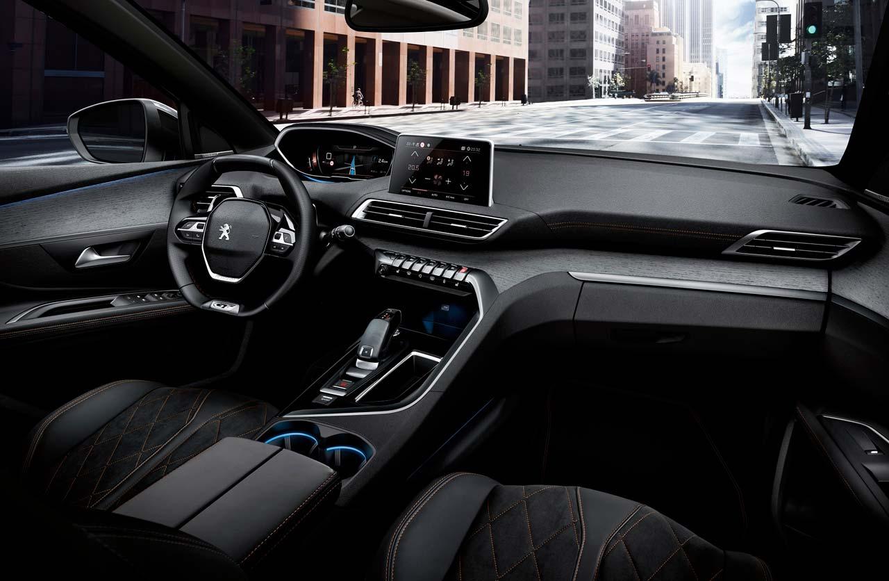 Interior nuevo Peugeot 5008