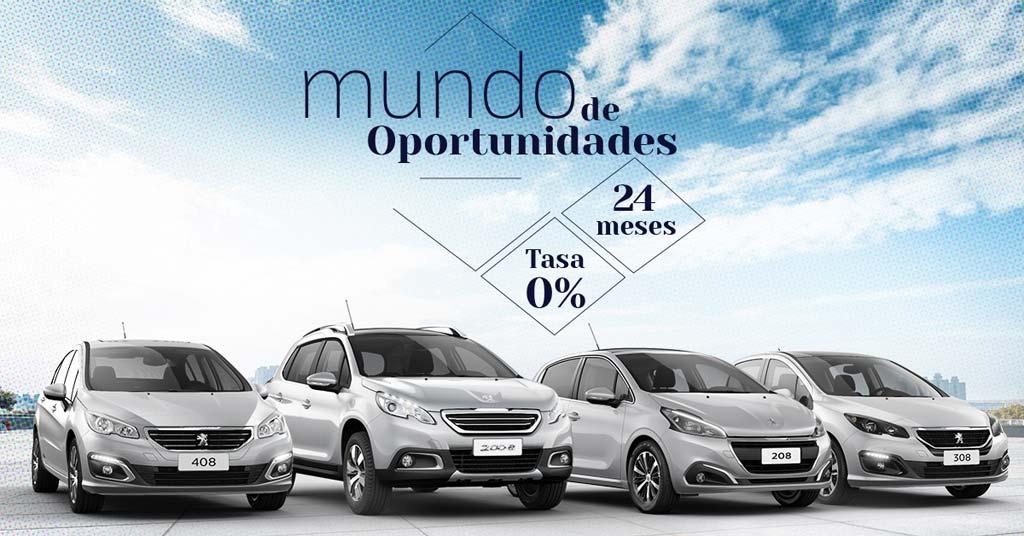 Mundo de oportunidades Peugeot