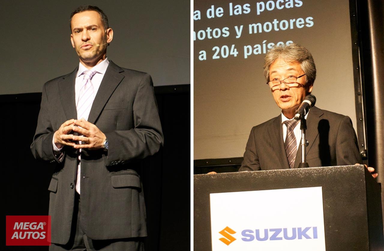 Sebastián Dañil y Takanori Suzuki