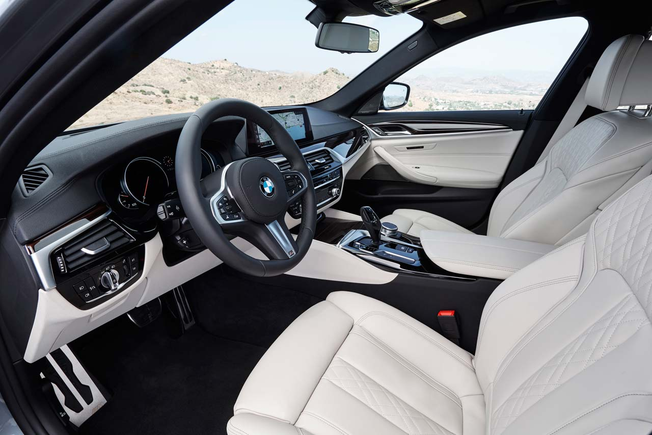 Interior Nuevo BMW Serie 5